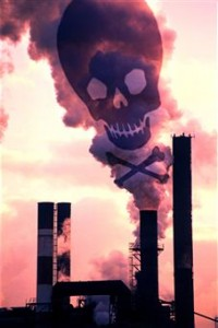 Polluting Factory