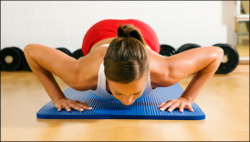 Push ups are great exercise for men and women