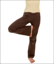 Yoga is great for agility, balance, flexibility, strength and muscle tone