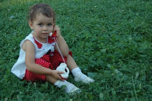 Toddler Playing on Phone
