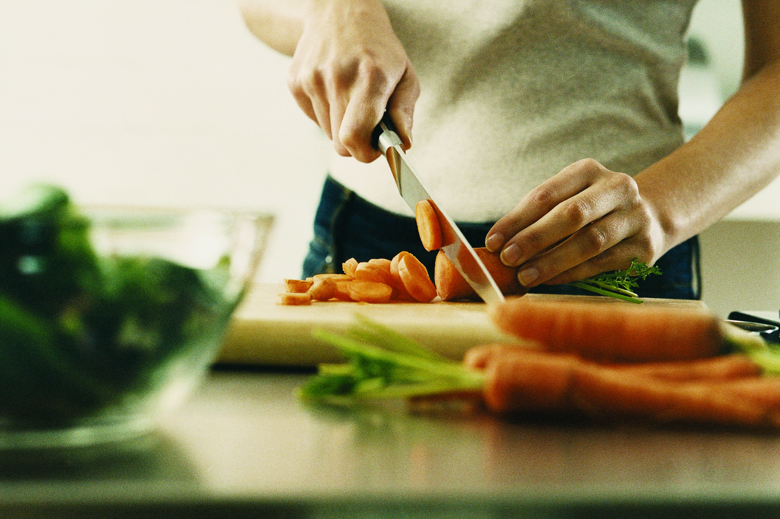 Vegetables Cut Up